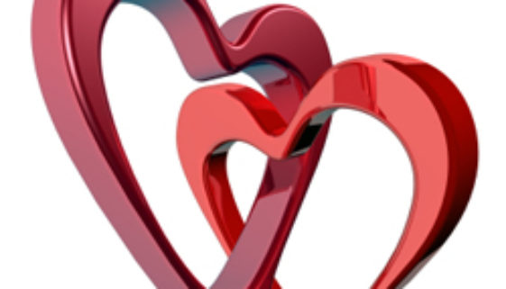 Two bound hearts